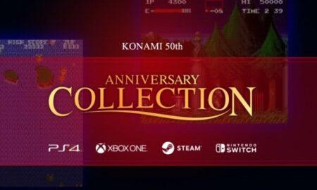 50th anniversary Konami