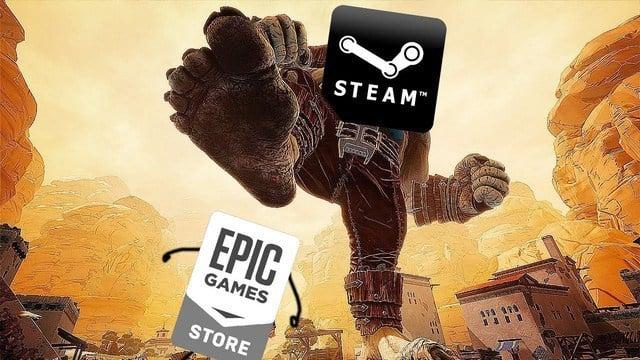 Steam vs Epic Games