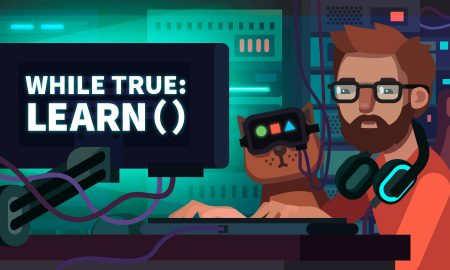 While True learn() coding meme Full Version Free Download