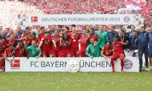 Bayern Munich won the seventh league title