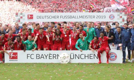 Bayern Munich won the seventh league title