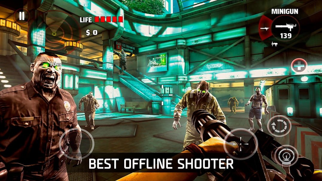 DEAD TRIGGER Offline Zombie Shooter Mobile Android WORKING Mod APK