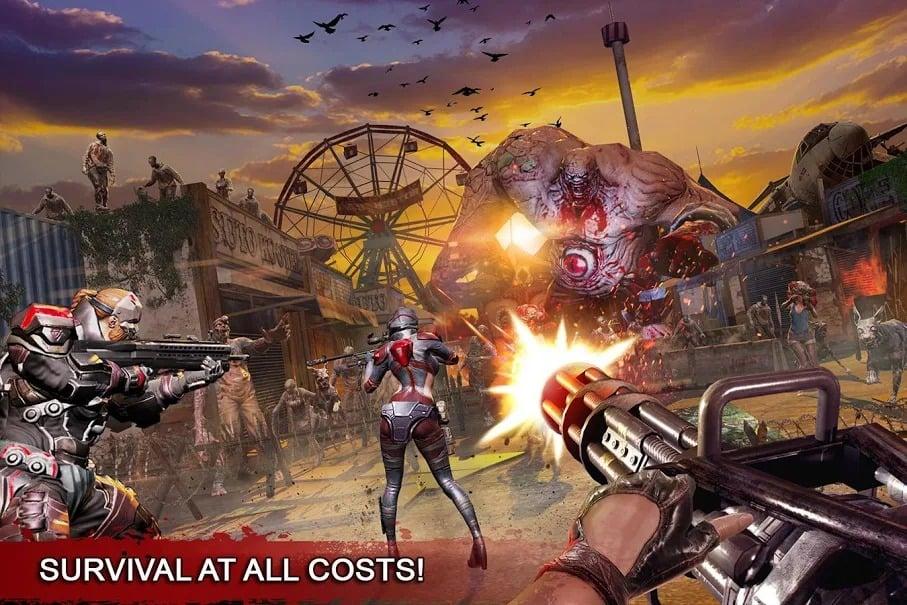 DEAD WARFARE Best Zombie Game Mobile iOS WORKING Mod