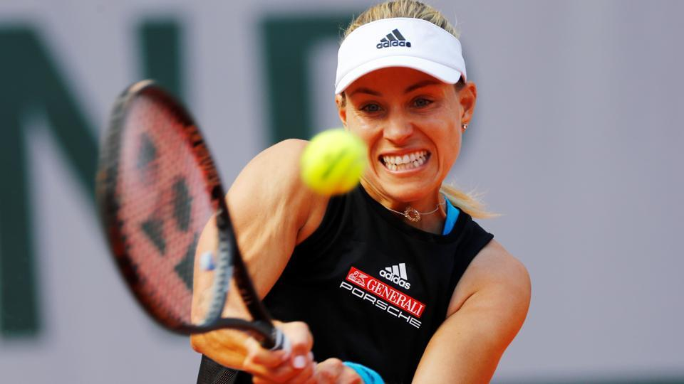 FRENCH OPEN World number 5 Angelique Kerber holiday