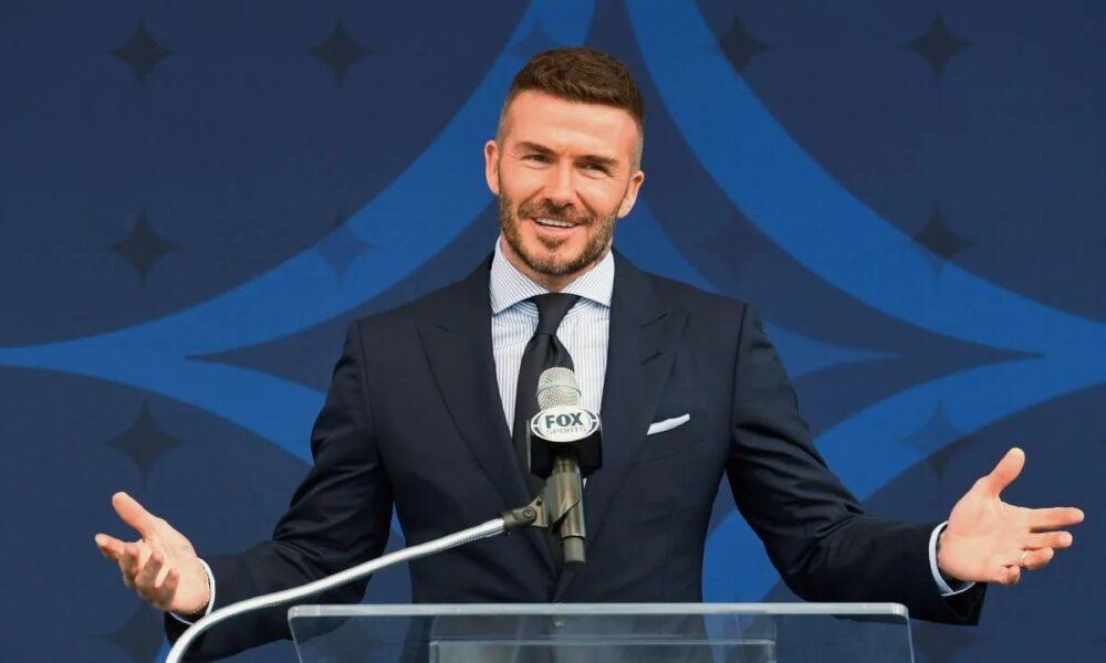 Football David Beckham Found Guilty