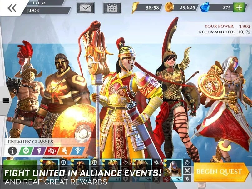 Gods of Rome Android WORKING Mod APK Download 2019