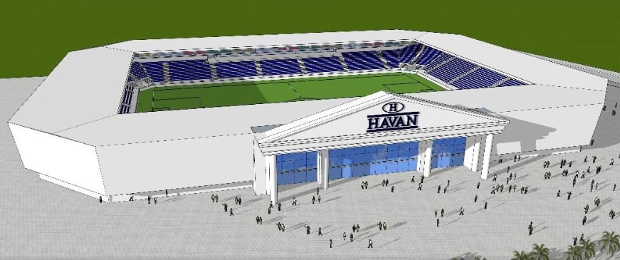 Havana to build and name new Brusque stadium