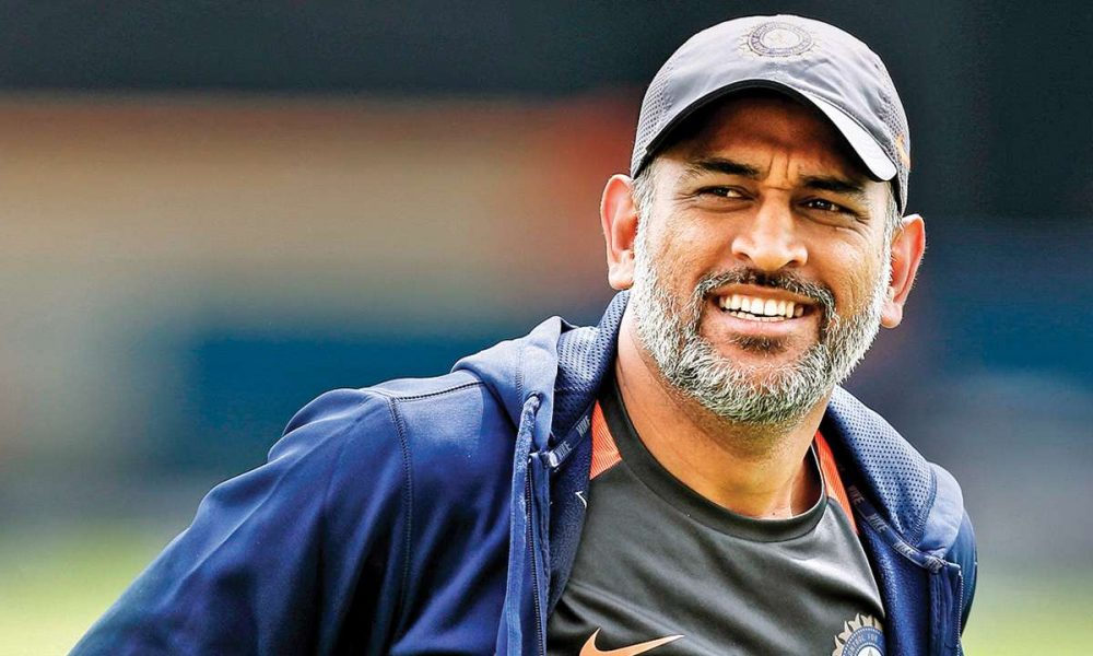 Captain MS Dhoni gave credit