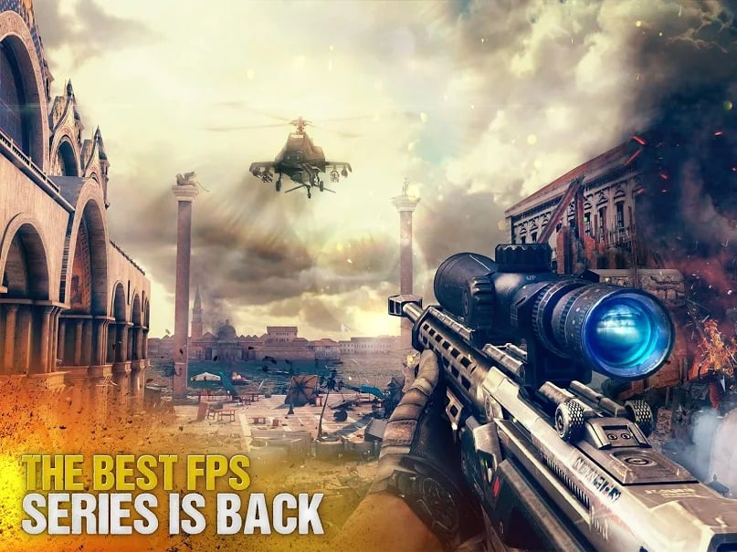 Modern Combat 5 eSports FPS Android WORKING Mod APK Download 2019