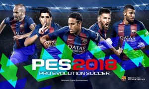 Pro Evolution Soccer 2018 Full Version Free Download
