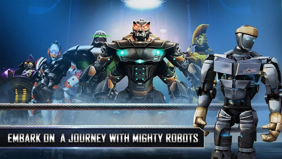 real steel game mod apk free download