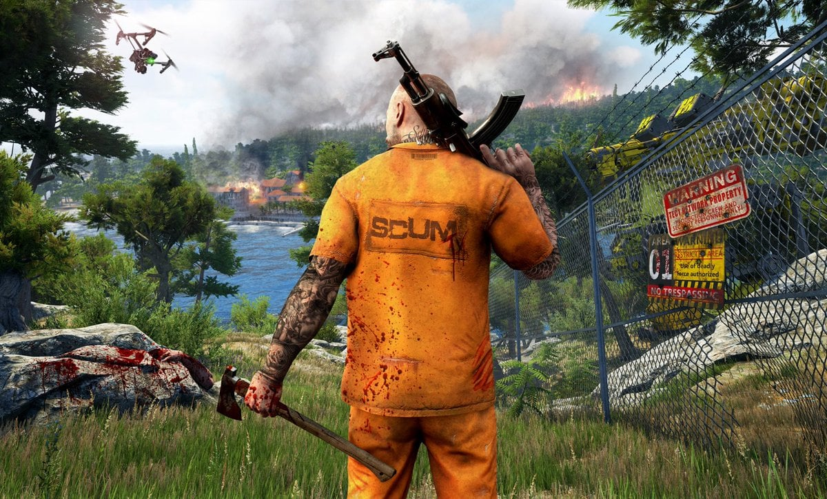 SCUM PS4 Version Full Game Free Download