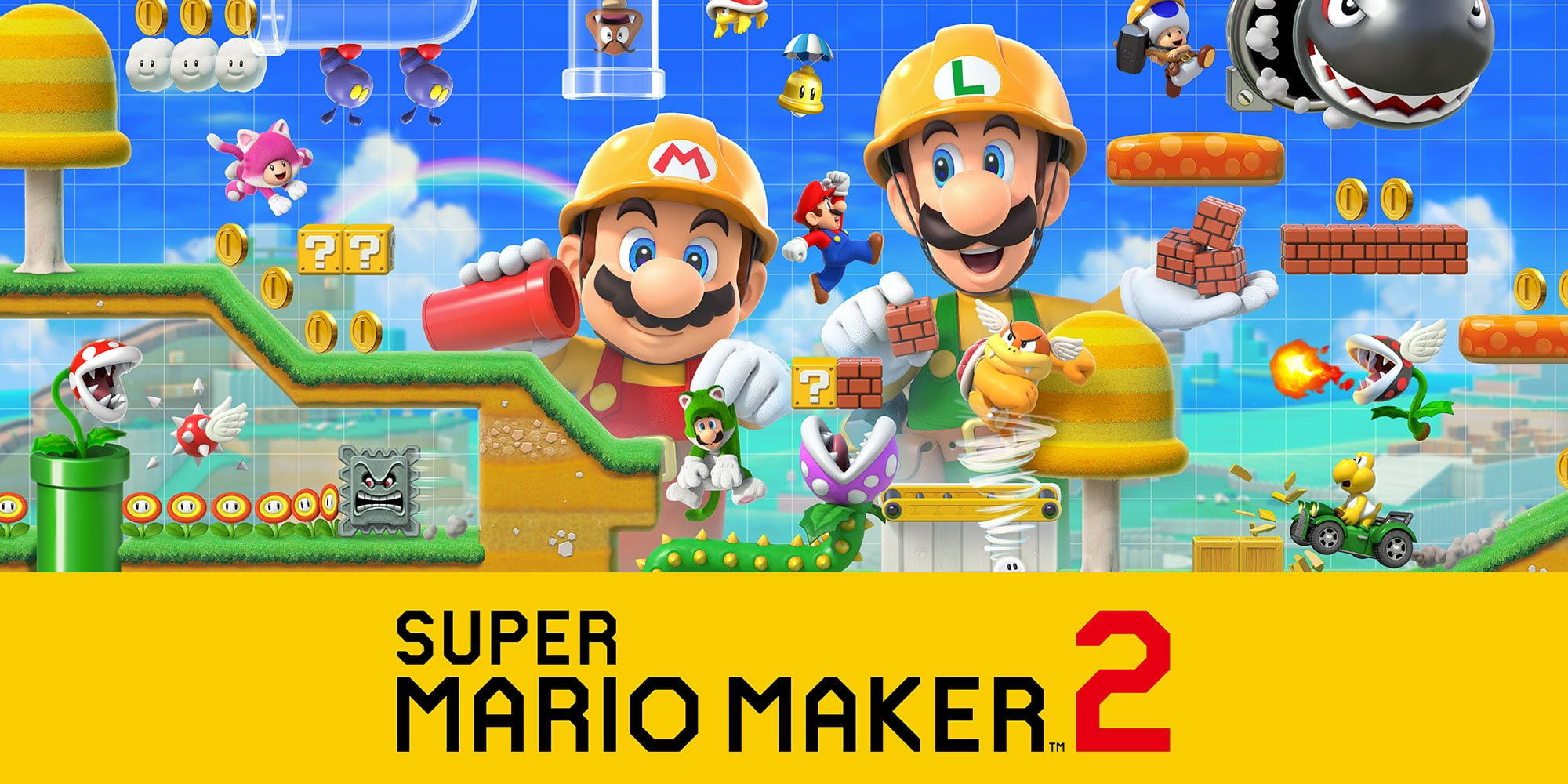 Super Mario Maker 2 Full Version Free Download 2019
