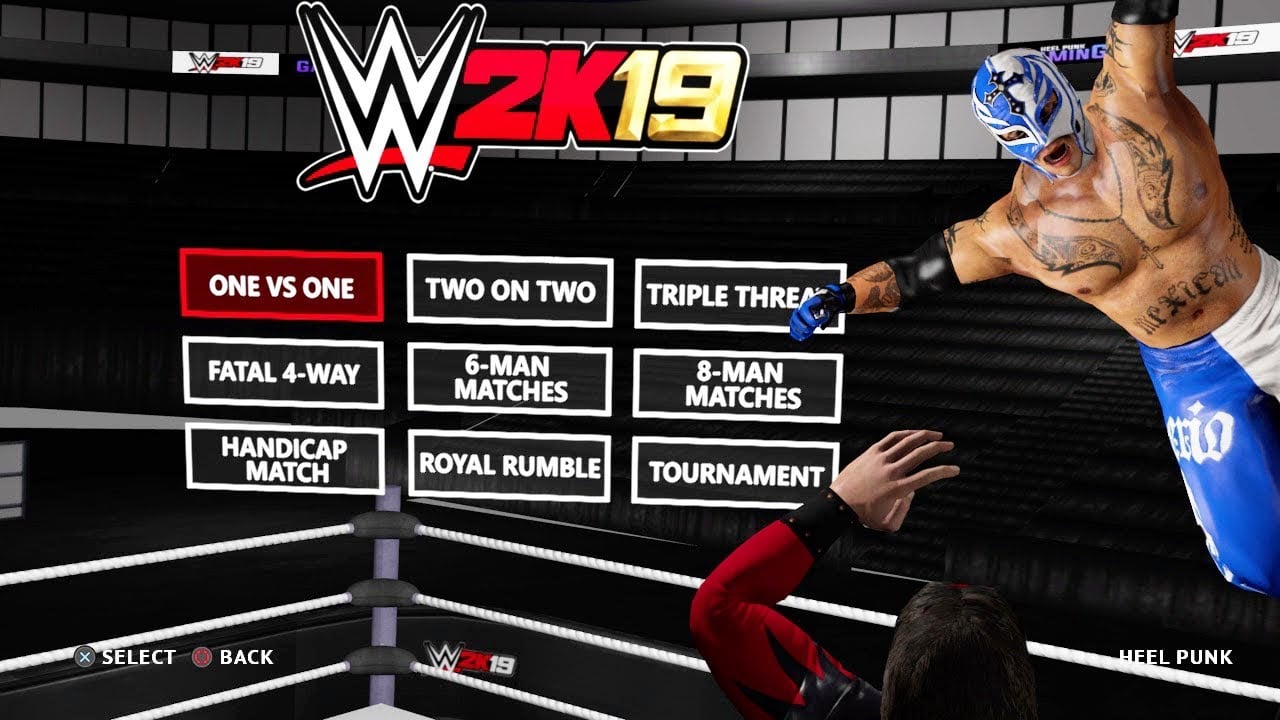 WWE 2K19 PS4 Full Version Free Download