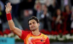 David Ferrer retired