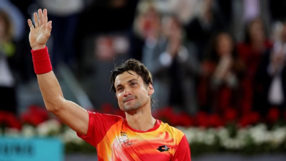 David Ferrer retired