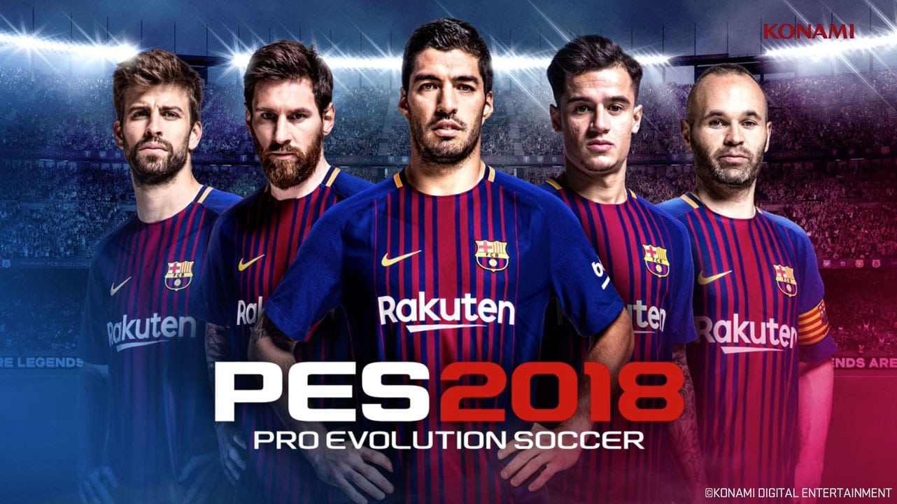 Pes 2018 PS4 Full Version Free Download