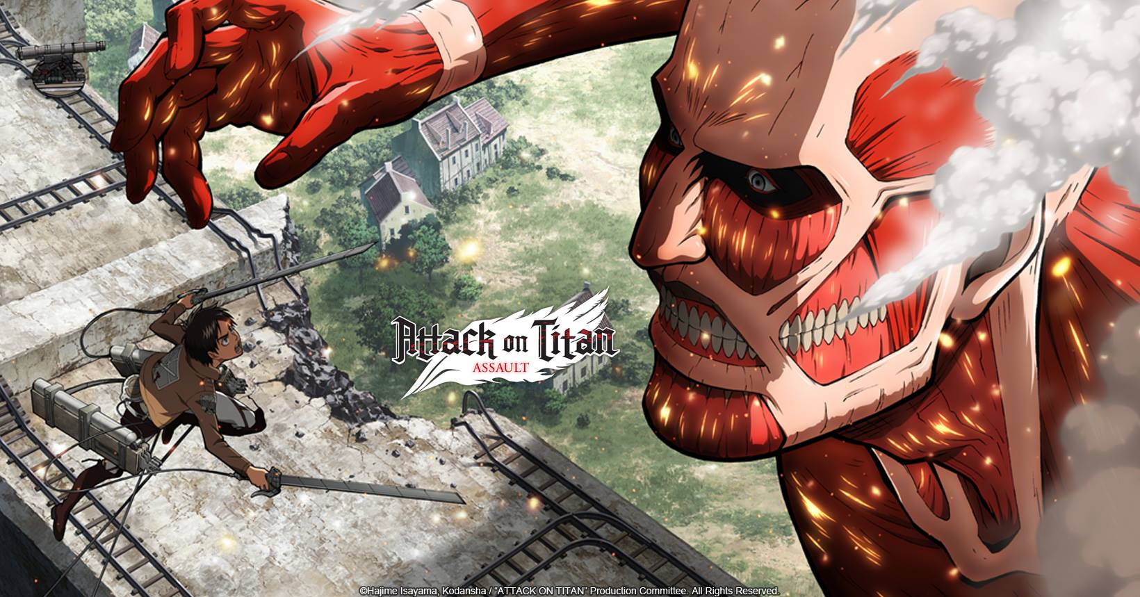 Attack on Titan Assault Mobile Android Full WORKING Mod APK Free Download