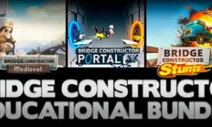 BRIDGE CONSTRUCTOR EDUCATIONAL BUNDLE PC Version Full Game Free Download