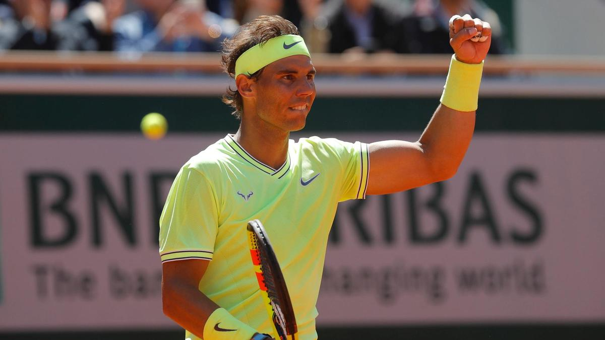 Tennis: After winning the French Open, Rafael Nadal says, 'My goal is not to break Roger Federer's record'