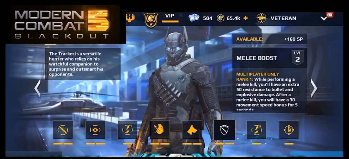 Modern Combat 5 Update 29 Latest A New Class Name THE TRACKER And MUCH MORE Modern Combat 5 Update XXIX