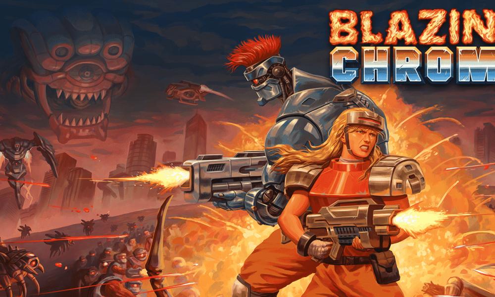 Blazing Chrome PC Version Full Game Free Download