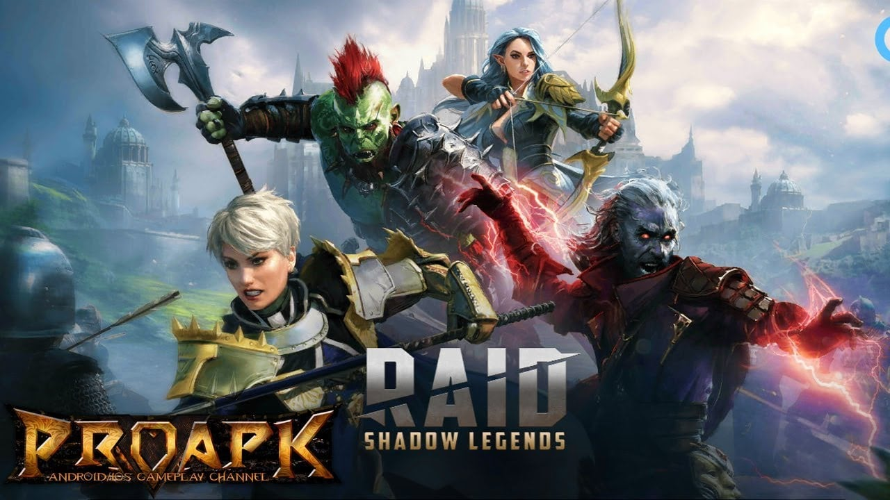 RAID Shadow Legends Mobile Android Full WORKING Game Mod APK Free