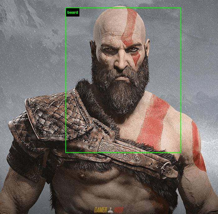 Kratos - Bearded