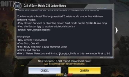 Call of Duty Mobile New Update Version 1.6.9.0 Zombie Mode LIVE Android Version Full Game Free Download