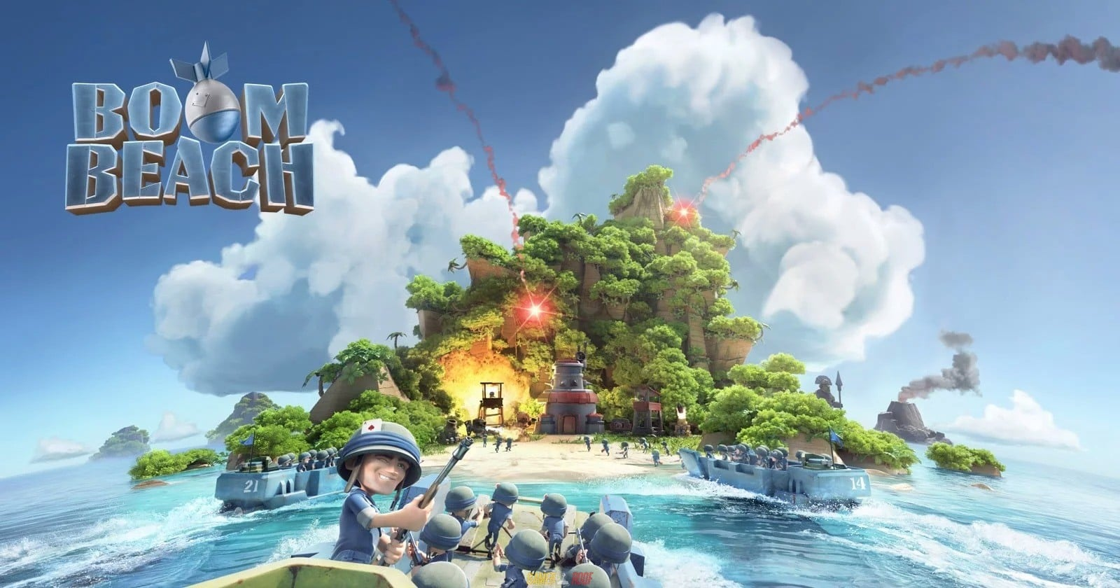 Boom Beach Mod APK Android Full Unlocked Working Free Download