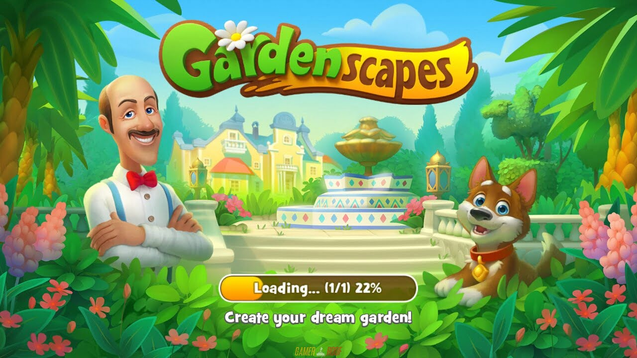 Gardenscapes Mod APK Android Full Unlocked Working Free Download