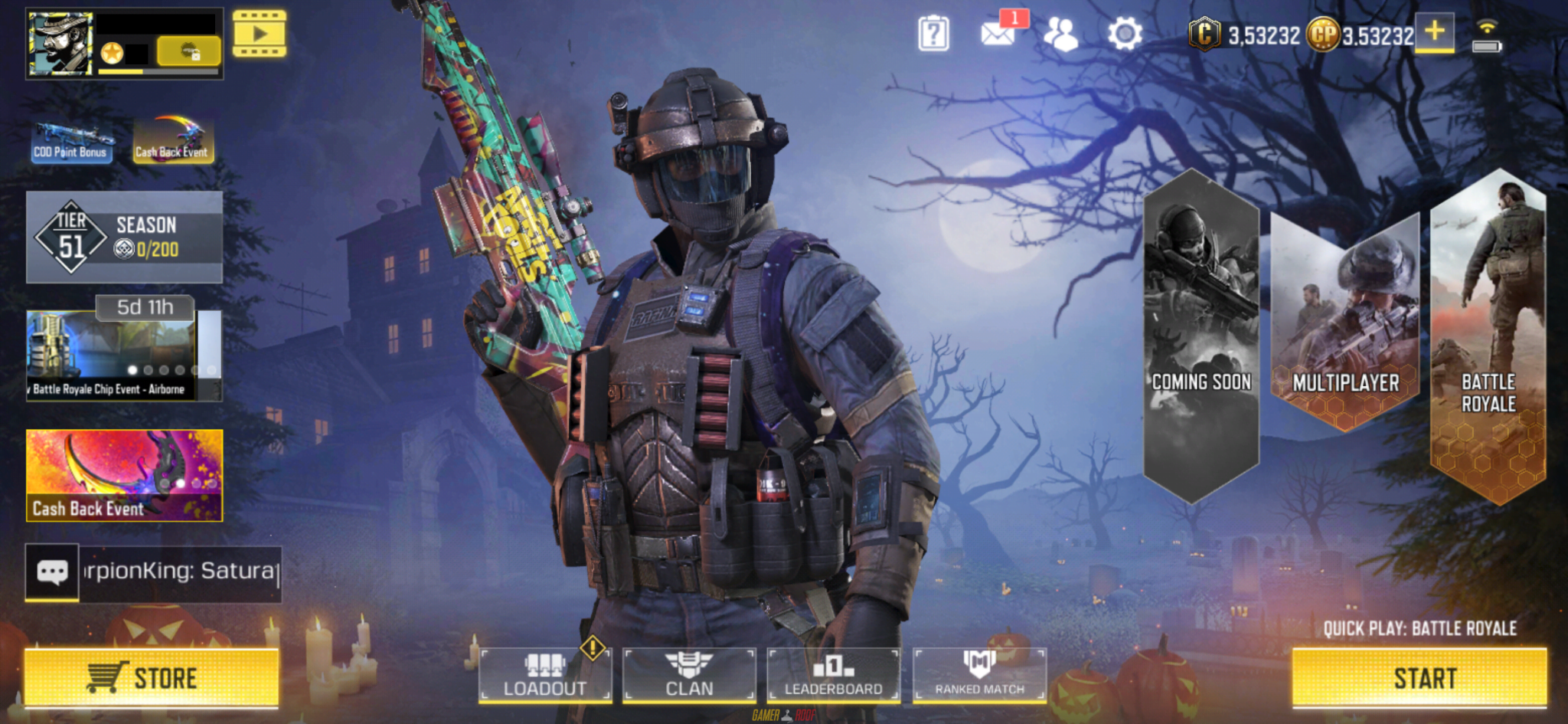 Call of Duty Mobile Pro Mod iOS Full Unlocked Working Free Download