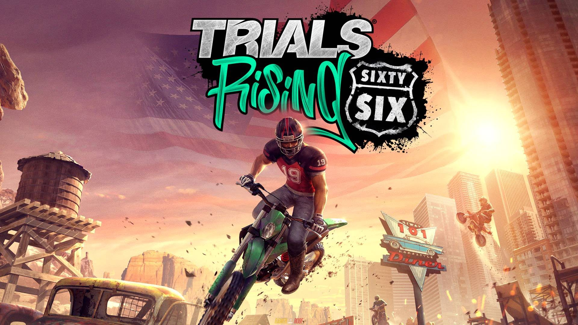 Trials Rising Sixty Six PC Version Full Game Free Download